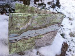 Hood River Oregon Map by Scoutwallet Hood River Oregon Thin Lightweight Wallet With Map