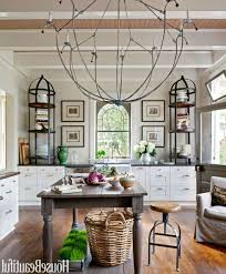 Kitchen Island Chandelier Lighting Kitchen Room Room Ideas Kitchens Log Home Kitchen Island Designs