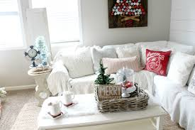 how to decorate your coffee table for christmas the glam farmhouse