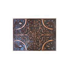 kitchen backsplash metal medallions soci metal resins tile plaque ssgv 1377 kitchen backsplash