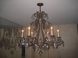 Iron Chandelier With Crystals Mexican Wrought Iron Chandelier U2014 Home Landscapings How To Find