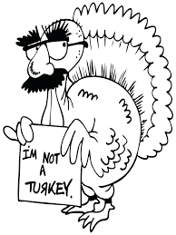 thanksgiving turkey coloring pages trouble activities dinner