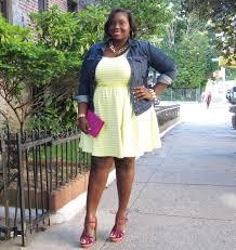 a denim jacket and jessica simpson u0027s plus size skater dress