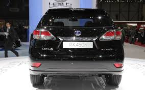 lexus rx 350 price 2014 first look 2013 lexus rx 350 and rx 450h automobile magazine