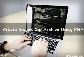 tutorial css php create multiple images zip archive using php meralesson blogger