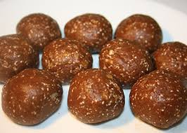 peanut butter protein chocolate balls reboot with joe