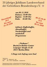 40 jähriges dienstjubiläum sprüche jubiläumsfeier der brandenburger gl taubenschlag das deutsche
