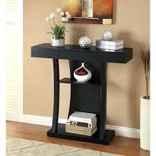 black console table with storage black console table with drawers konect me