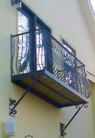 wrought iron balconies decks and porches