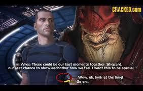 Funny Mass Effect Memes - wrex shepard masseffect