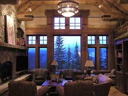 log home interior koselig log cabin interior photo traditional living room