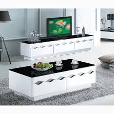 home decorators coffee table 05 black and white paint glass coffee table living room furniture