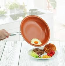 cuisine saine freeture la poêle non adhésive en cuivre pour une cuisine saine