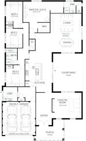 5 bedroom house floor plans single story 5 bedroom floor plans fancy idea simple 5 bedroom home