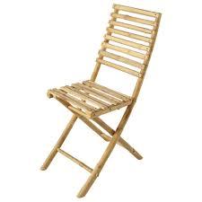 couverts en bambou chaise pliante de jardin en bambou robinson maisons du monde