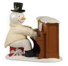 2009 sing along snowman hallmark keepsake ornament at hooked on