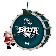 2011 annual philadelphia eagles ornament the danbury mint