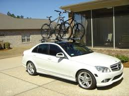 mercedes c class roof bars roof bike rack on the c class mbworld org forums