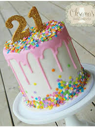 the 25 best 21 birthday cakes ideas on pinterest pink birthday