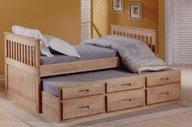 Cabin Bed Frame Single 3ft White Or Wax Captain S Cabin Bed With Bed