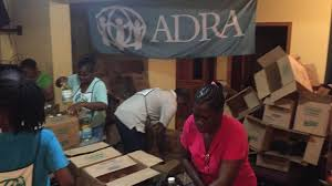 adra helps coordinate relief to affected islands in north