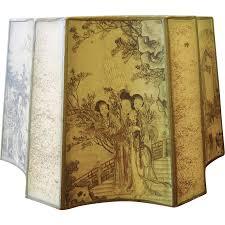 vintage silk l shades oriental l shade architectural warehouse 1338 antique silk