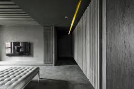 wandgestaltung paneele farbe grau visuelle effekte wohnzimmer wandgestaltung paneele putz