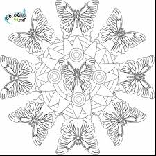 impressive intricate mandala coloring pages with free printable
