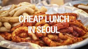 Cheap Lunch Buffet by Cheap Lunch In Seoul What U0027s The Price Range Talktomeinkorean