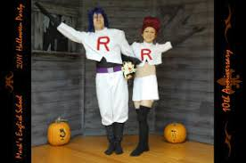 Team Rocket Halloween Costume Haunted House Halloween Party Haunted House Decorations
