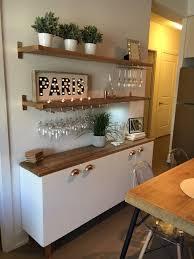 Diy Bar Cabinet Diy Bar Statement Bar Lage Bar Kitchen Wine Glass Rack Wood