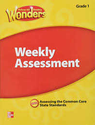 amazon com mcgraw hill reading wonders weekly assessment