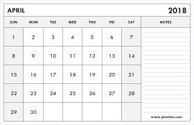 printable april 2018 calendar template blank editable calendar