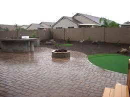 Pics Of Backyard Landscaping yard revamp remodel arizona living landscape