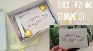 bridesmaid asking gifts diy asking your bridesmaid gift simple and affordable