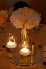 wedding reception centerpieces without flowers decorating of party