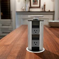 evoline port 1128 simple pop up power for kitchen countertops