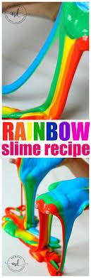 rainbow slime how to make slime slime slime
