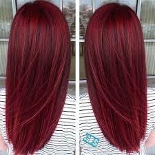 Frisuren Lange Haare Mit Farbe by Die Besten 25 Haare Rot Färben Ideen Auf Rot
