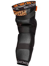 sixsixone motocross helmet six six one black 2017 rage hard pair of mtb knee and shin guard