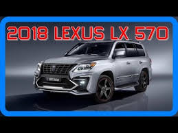 lexus lx 570 2018 new car price update and release date info