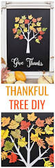 Thankful Tree Craft For Kids - thankful tree craft home decor for thanksgiving make life lovely