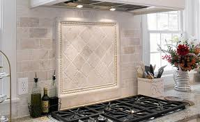 home design tuscan backsplash tile murals tuscany kitchen tiles