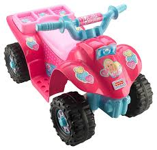 amazon com power wheels barbie lil u0027 quad toys u0026 games