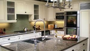 granite countertops and white cabinets most in demand home design