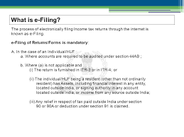presentation on e filing the process of electronically filing