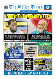 Belize Flag Belize Times August 30 2015 By Belize Times Press Issuu