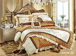 Royal Bedding Sets 11pcswhite Color Luxury Boho Royal Bedding Set King Size For