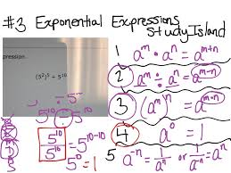 study island 3 exponential expressions math algebra