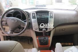 lexus rx 350 in qatar 2006 lexus rx350 western expat owned qatar living